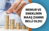 Memur ve Emekli Maaş Enflasyon Zammı Tutarı Belli Olmaya Başladı!