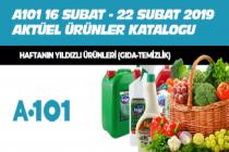 A101 Aktüel Ürünler Kataloğu (Haftanın Yıldızları) 16 Şubat - 22 Şubat 2019 (Fırsat Ürünleri)