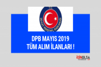 Tüm DPB alımları, mayıs 2019 ilan listesi