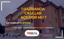 Okulların Açılma Tarihi ile İlgili Açıklama Yapıldı!