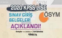 Lise KPSS Giriş Belgeleri Yayımlandı