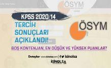 KPSS 2020/14 En Düşük ve Yüksek Puanlar? Lise, Ön Lisans ve Lisan