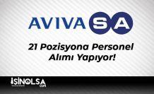 Avivasa 21 Pozisyona Personel Alımı Yapıyor!