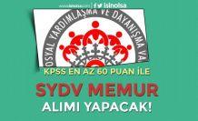 İŞKUR'da KPSS En Az 60 Puan İle SYDV Memur Alımı İlanı Yayımlandı!