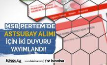 Milli Savunma Bakanlığı Astsubay Alımı Hakkında 2 Duyuru Yayımladı