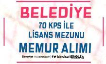 Altunhisar Belediyesi 70 KPSS İle Lisans Mezunu Memur Alımı İlanı Yayımladı