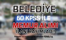Çardaklı Belediyesi 60 KPSS İle Zabıta Memuru Alımı İlanı