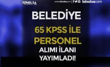 Karapınar Belediyesi 65 KPSS Puanı İle Tekniker Alımı Yapacak