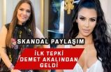 Kim Kardashian'ın Skandal 1915 Ermeni Olayı Paylaşımına Demet Akalından Tepki