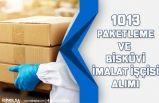 İşkur Üzerinden İlköğretim Mezunu 1013 Paketleme İşçisi, Bisküvi İmalat İşçisi Alınacak