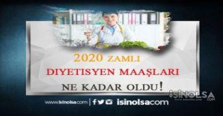 2020 Diyetisyen Maaşları Ne Kadar Oldu?