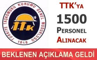 TTK Açıklaması 1500 İşçi Alımı Yaş Sorunu ve Askerlik İlan Tarihi