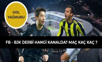 Fenerbahçe (FB) - Beşiktaş (BJK) Derbisi Maç Sonucu (25 Şubat 2019) Maç Kaç Kaç? Hangi Kanalda