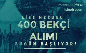 İstanbul 400 Bekçi Alımı Başvuruları Bugün Başlıyor! Genel ve Özel Şartlar Nedir?