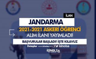 Jandarma ( JSGA ) 2021-2022 Yılı Güz Dönemi Askeri Öğrenci Alımı Başladı!