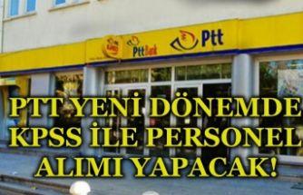 PTT Yeni Dönemde KPSS'li Personel Alımı Yapacak