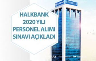 Halkbank 2020 Personel Alımı Başvurusu Başladı! (Banko Hizmetleri, Müfettiş, Kontrolör, Uzman)