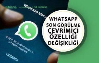 WhatsApp'ta Son Görülme ve Çevrimiçi Özelliği Sorunu!