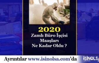 2020 Büro İşçisi Maaşları! Büro Memurundan Fark Nedir?