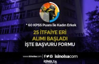 Aksaray Belediyesi Kadın Erkek 25 İtfaiye Eri Alımı Başladı! İşte Başvuru Formu