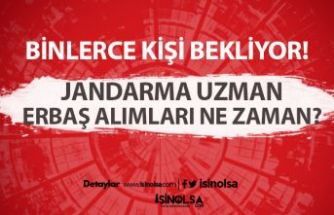 Jandarma Uzman Erbaşlığa Başvuru Yapan Adaylar 4. Grup Duyurusu Bekliyor!
