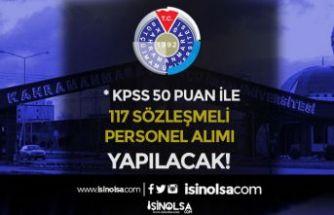 KSÜ Hastaneye 117 Sözleşmeli Personel Alım İlanı! KPSS En Az 50 Puan İle