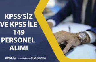 Süleyman Demirel Üniversitesi KPSS'siz KPSS ile 149 Sözleşmeli Memur Alımı!