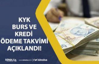 Temmuz KYK Burs Kredi Ödemesi Ne Zaman Yapılacak Belli Oldu!