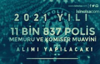 2021 Yılı EGM 11 Bin 837 Komiser Muavini ve Polis Alımı Yapacak