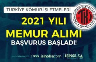 TKİ ( Türkiye Kömür İşletmeleri ) 2021 Yılı Memur Alımı Online Başvurusu Başladı