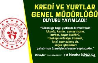 GSB KYGM Yurtlarda İşletici Seçimi İlanı Yayımladı!