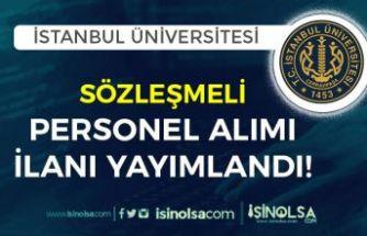 İstanbul Üniversitesi Cerrahpaşa 2 Bilişim Personeli Alım İlanı