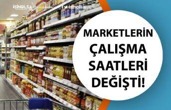 5 Haziran Cuma Marketlerin Çalışma Saatleri BİM, A101, Şok Kaçta Kapanacak?