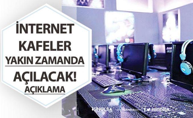 İnternet Kafeler Yakın Zamanda Açılacak! Müjde Geldi!