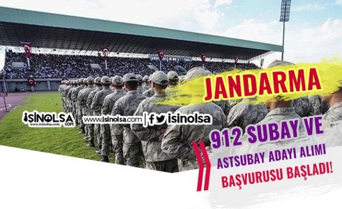 Jandarma Lise Mezunu 912 Subay ve Astsubay Adayı Alımı Başvuruları Başladı!