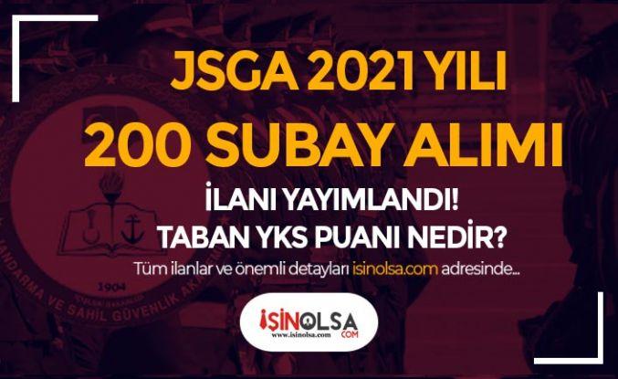 JSGA 200 Öğrenci ( Subay ) Alımı İçin İlan Yayımladı! YKS TYT Puanı Kaç? Şartlar Nedir?